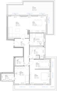 4-Raum-Wohnung in Teterow